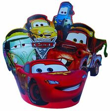 DISNEY CARS LIGHTNING MCQUEEN  FANCY PARTY HATS - PARTY SUPPLIES - PACK OF 8
