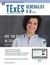 TExES Generalist 4-8 (111) Book + Online (TExES Teacher Certification Test Prep