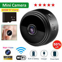 Mini Wireless Wifi Hidden Spy Camera Home Security HD 1080P DVR Night Vision TOP