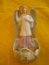 Alter Weihwasserkessel Bisquitporzellan ........... Schutzengel , Engel