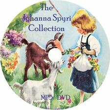 Johanna Spyri Audiobook Collection in English on 1 MP3 DVD Heidi Free Shipping