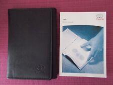 TOYOTA YARIS (2003 - 2005) OWNERS MANUAL - OWNERS GUIDE - HANDBOOK (YJL 1695)