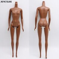 "1/6 5 Jointed DIY Movable Chocolate Naked Doll Body For 11.5"" DollHouse DIY Body"