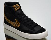 Nike Blazer Mid '77 Leopard Women's Black Chutney Sail Lifestyle Sneakers Shoes