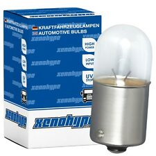 4x R5W XENOHYPE Classic BA15s 24 V 5 Watt LKW Kugellampe