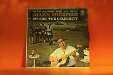 ALLAN SHERMAN - MY SON THE CELEBRITY - COMEDY WARNER EX VINYL LP RECORD