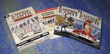 Empire Earth Platin inkl. Zeitalter der Eroberungen in DVD Hülle neuw.