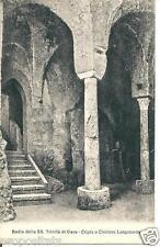 cm 216 Anni 20 Cava dei Tirreni (Salerno) Cripta Badia SS Trinità - non viagg FP