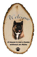 Outdoor Welcome Sign (Tb) - Akita 51098