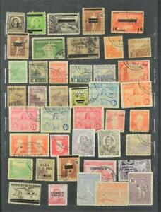 PHILIPPINES STAMPS ON 2 SIDES OF STOCK CARD  (A2)