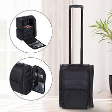 HOMCOM Makeup Bag Suitcase Cosmetic Trolley Case Portable Spacious Durable Nylon