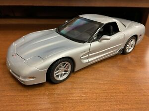 AUTOart 1/18 Scale 2001 Corvette C5 Z06 in Quick Silver - Rare