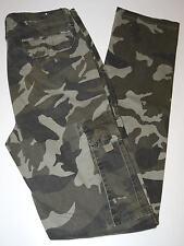 Pantalone uomo cargo mimetico 46 48 50 52 54 cotone caldo con tasconi verde
