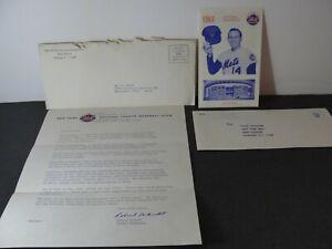 Vintage 1968 New York Mets Baseball Schedule + Ticket Manager