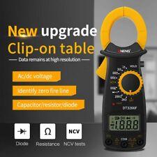 Digital Lcd Clamp Meter Multimeter Ac Dc Voltmeter Ammeter Ohmmeter Volt Tester