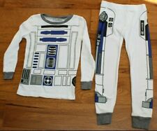 Star Wars 8 The Last Jedi 2017 R2D2 BB8 character pjs long older boys pyjama