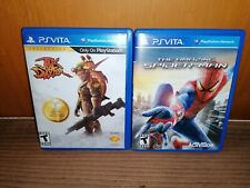 JAK AND DAXTER COLLECTION Rare edition+THE AMAZING SPIDERMAN.ntsc PS VITA.LOTE