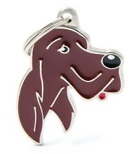 Irish / Red Setter Dog ID Tag (28) - Engraved FREE - Personalised - Charm