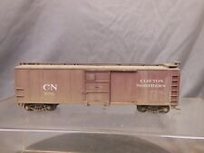 HO SCALE STEEL BOX CAR CLIFTON NORTHERN WEATHERED