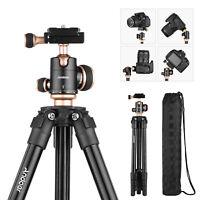 "50"" Pro Camera Tripod for DV DSLR Video Stand 360 Degree Ball Head w/ Carry Bag"