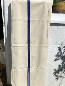 Beautiful Vintage Hemp Grain Sack Linen Hessian Material  Upholstery