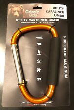 CLEARANCE S4315 JUMBO ALUMINIUM KARABINER HOOK WITH CUSHION GRIP CARRYING TOOLS