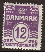 Danmark 1921-30 Christian X. SC A10 #96. MNH P257 P257