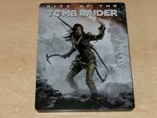 Rise of The Tomb Raider Steelbook Case Only G2 (D) (NO GAME) **FREE UK POSTAGE**