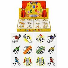Boys Girls Temporary Tattoos Kids Party Bag Fillers Balloons Loot Pinata Toys Football