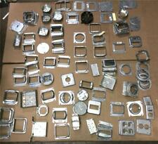 MIXED LOT OF 131 RACO METAL ELECTRICAL BOXES, COVERS, WALL PLATES CONTRACTOR