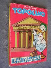 TOPOLINO # 1457 - 30 ottobre 1983 - WALT DISNEY - QUASI OTTIMO -  con INSERTO