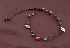 Bracelet bresilien amitie fil tresse avec perles de coquillages 9668