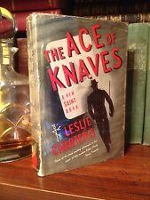 1941 The Ace Of Knaves Saint Leslie Charteris Simon Templar W/Dust Jacket