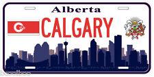 Calgary Alberta Canada Aluminum Novelty Car Tag License Plate