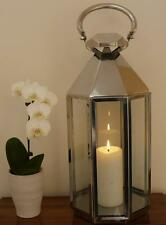 Stylish Stainless Steel Octagon Candle Lantern for the home or garden (1938)