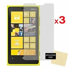 3 x Protective Screen Protector Guard Shield For Nokia Lumia 920