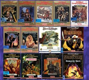 FORGOTTEN REALMS SSI GOLD BOX 13 GAMES +1Clk Windows 10 8 7 Vista XP Install