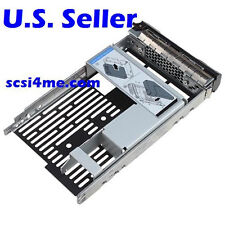 """Hybrid Drive Carrier 3.5"""" tray 2.5"""" adapter Dell 9W8C4 F238F R730 R720 R530 T630"""