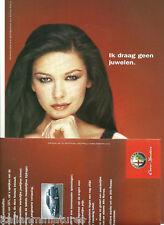 Alfa Romeo 156 SW 166 Catherine Zeta Jones & estrella de cine folleto de nuevo, sin usar