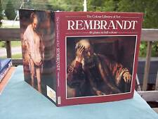 The Colour Library of Art REMBRANDT 48 plates in full c