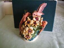 Harmony Kingdom Jewels Of The Wild Humming Birds Pc Marble Resin Box Figurine