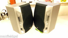 "Used Rca Rs2519 Set of Speakers, 9.5""w x 8""d x 13""h, 5' wires for stereo hookup"