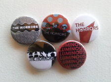 "5 x The Horrors 1"" Pin Button Badges ( british rock luminous skying )"