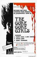 Gore Gore Girls Poster 01 Metal Sign A4 12x8 Aluminium