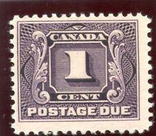 Canada 1916 KGV Postage Due 1c red-violet MLH. SG D2. Sc J1.