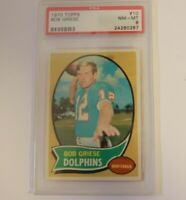 1970 Topps #10 Bob Griese  PSA 8 Dolphins