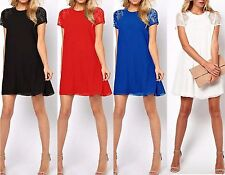 Lace Party Tunic Dresses for Women