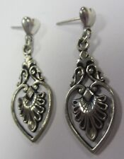 Style Dangle Earrings 39.36Mm, 4.9G Beautiful Ladies Sterling Silver Fancy