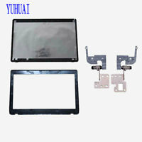 New ASUS K52 A52 X52 K52J K52N K52JR Lcd Cover Lid Back Rear & Bezel & HInges