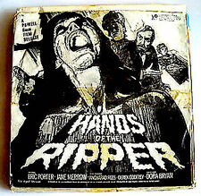 SUPER 8mm Film  - HANDS OF THE RIPPER   - COLOUR  - SOUND  -  400FT DIGEST